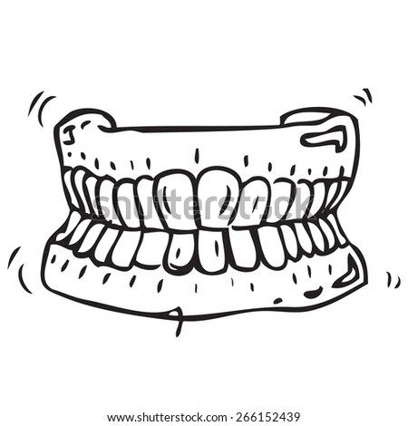 False Teeth Stock Images, Royalty-Free Images & Vectors