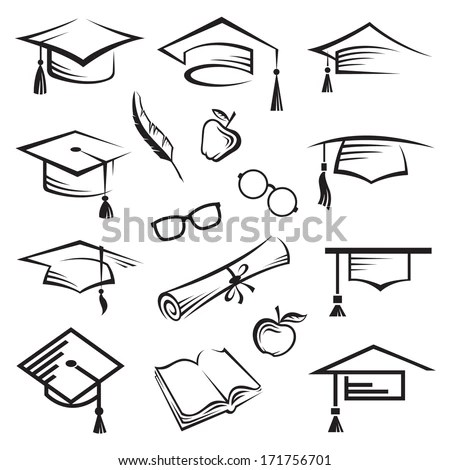 Graduation Cap Stock Images, Royalty-Free Images & Vectors