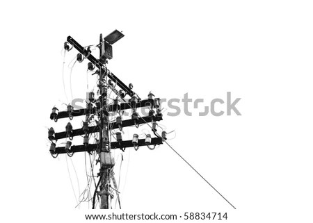 Telegraph Poles Stock Images, Royalty-Free Images