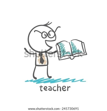 Cartoon Teacher Stock Images, Royalty-Free Images