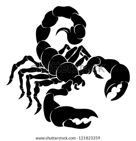 scorpion stock royalty-free