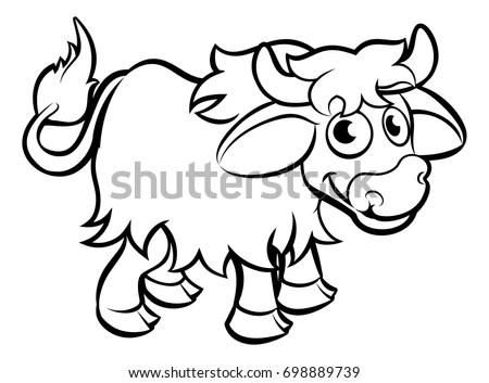 Illustrated Letter N Stock Vector Illustration Of Outline