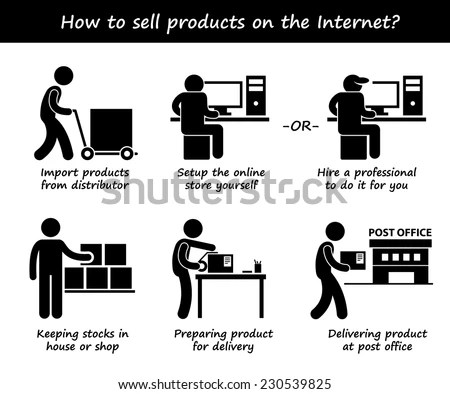 Packaging pictogram Stock Photos, Images, & Pictures