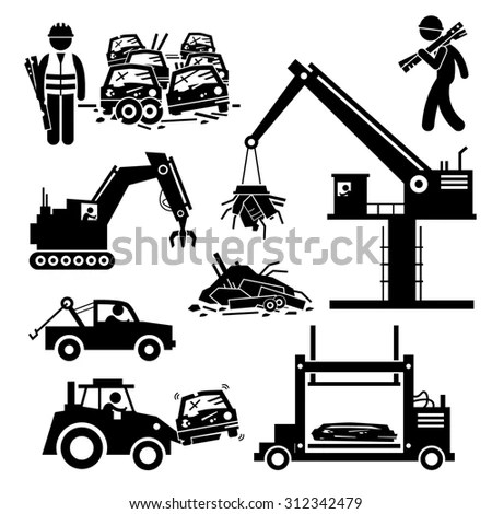 Salvage Yard Stock Images, Royalty-Free Images & Vectors