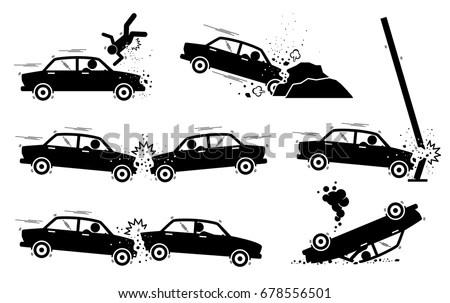 Vehicle Accident Symbols Traffic Accident Symbols Wiring