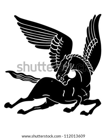Flying Horse Stock Images Royalty Free Images Amp Vectors