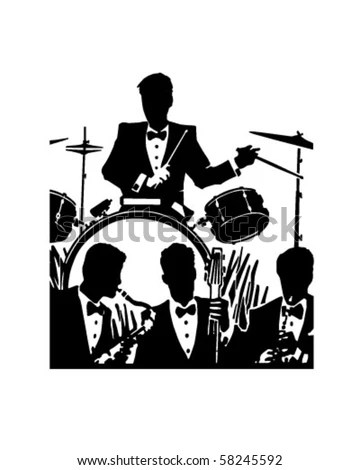 1940s Music Stock Images, Royalty-Free Images & Vectors