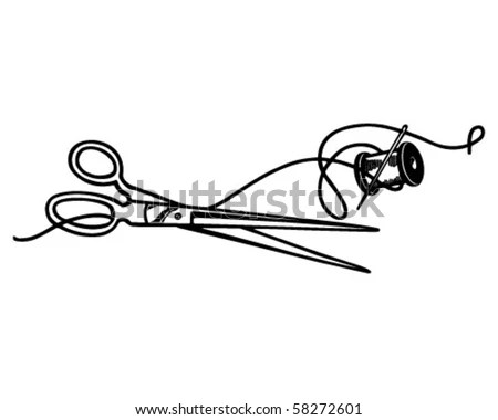 Sewing Clip Art Stock Images, Royalty-Free Images