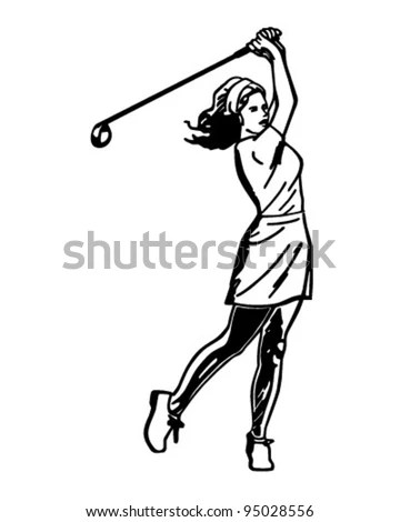 Ladies-golf Stock Photos, Royalty-Free Images & Vectors
