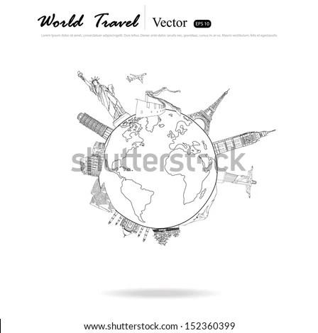 Modern Globe Vector Illustration Stock Vector 148053638