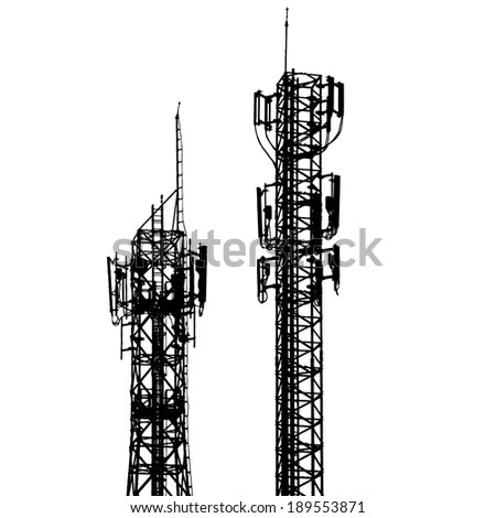 Telecom Tower Stock Images, Royalty-Free Images & Vectors