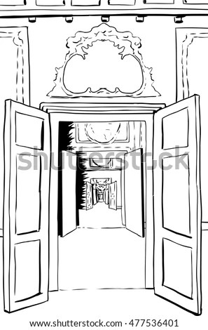 Through Door Stock Images, Royalty-Free Images & Vectors