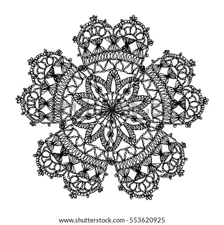 Knitted Flower Stock Images, Royalty-Free Images & Vectors