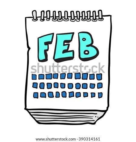 February Calendar Stock Images RoyaltyFree Images
