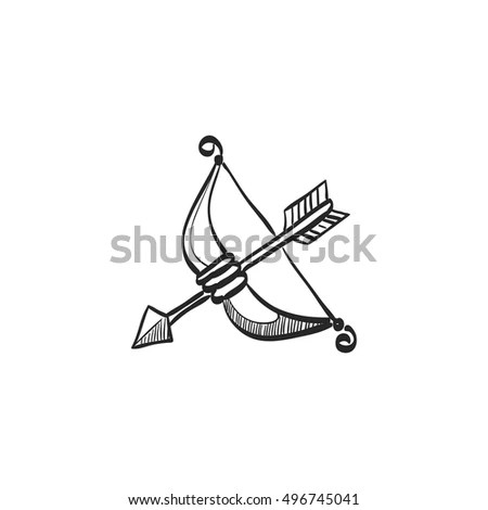 Bow Sketch Stock Images, Royalty-Free Images & Vectors