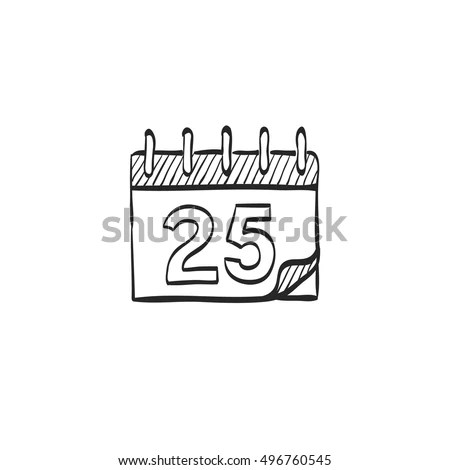 December Calendar Stock Images, Royalty-Free Images
