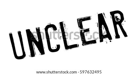 Unclear Stock Images, Royalty-Free Images & Vectors