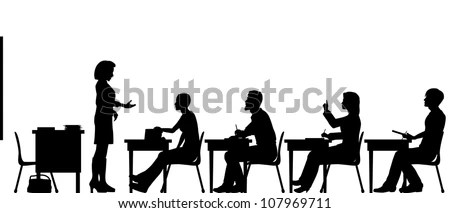 Teacher Silhouette Stock Images, Royalty-Free Images
