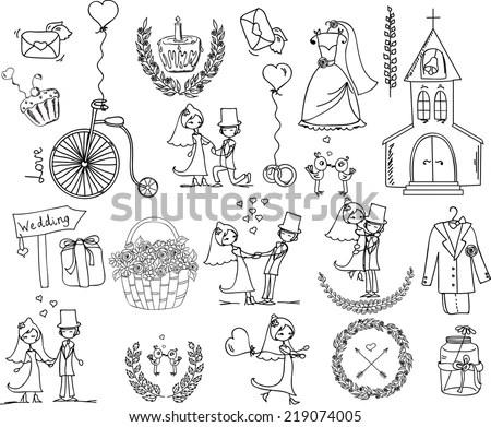 Cute Cartoon Princess Collection Throne Castle Stock