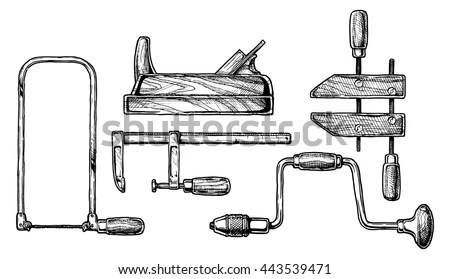Woodwork Tools Stock Images, Royalty-Free Images & Vectors