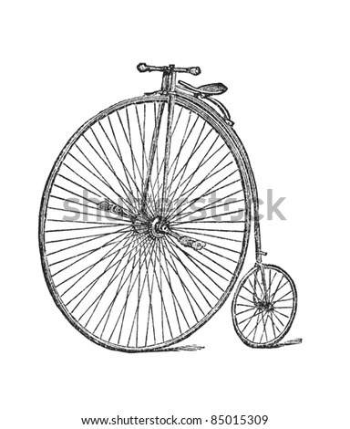 Penny-farthing Stock Images, Royalty-Free Images & Vectors