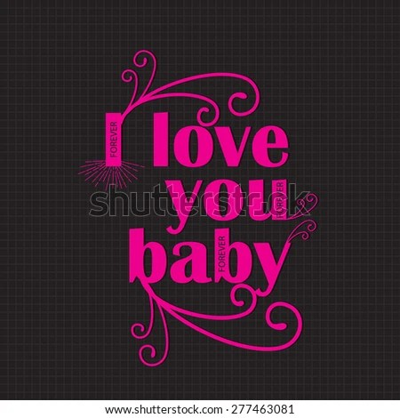 i love you baby photo Wallpaper sportstle