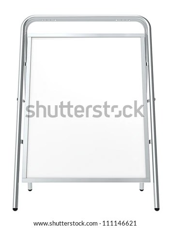 Sandwich Board Stock Images, Royalty-Free Images & Vectors