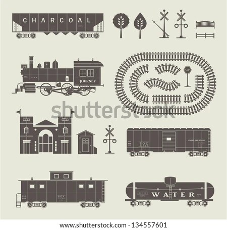 Vintage Train Stock Images, Royalty-Free Images & Vectors