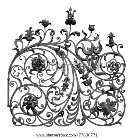 Wrought-iron Lattice Stock Photos, Images, & Pictures