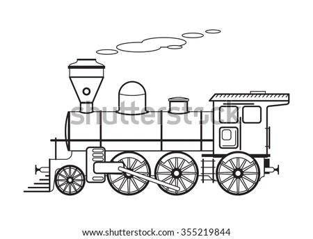 Steam Engine Locomotive Antique Train Antique Toy Steam