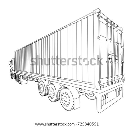Truck Trailer Stock Images, Royalty-Free Images & Vectors