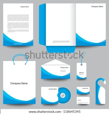 Folder Template Stock Photos Images & Pictures