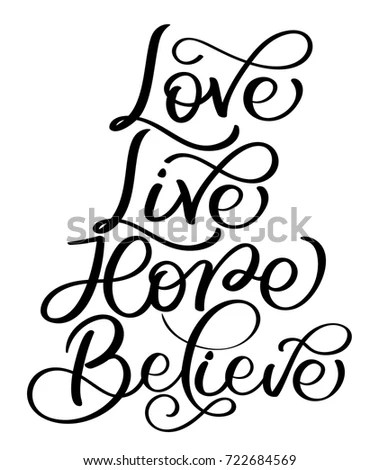 Belief Stock Vector Images