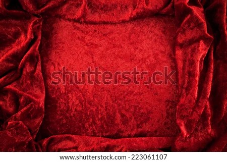 Rich Color Very Soft Crushed Velvet Stock Photo (Edit Now) 223061107 - Shutterstock