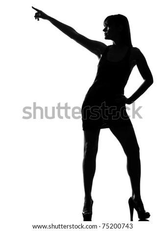 sexy stripper silhouette