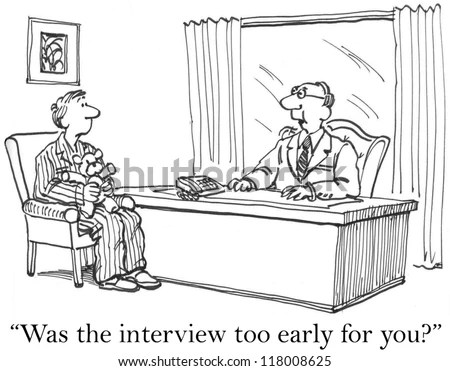 Job Interview Cartoons Stock Images, Royalty-Free Images