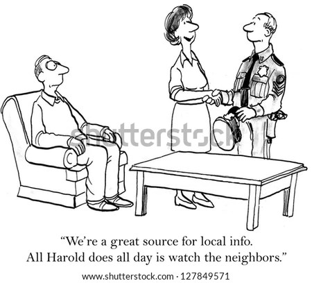 Neighborhood Watch Stock Images, Royalty-Free Images