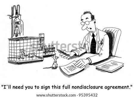 Non-Disclosure Agreement Clip Art
