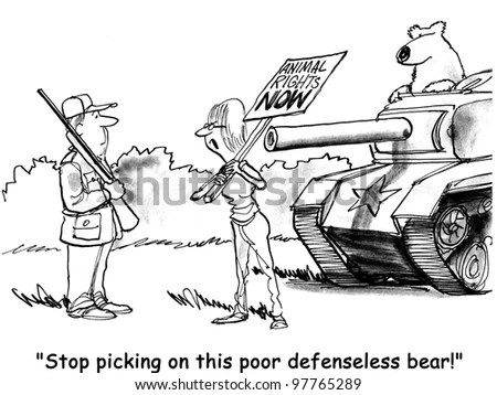 Hunting cartoons Stock Photos, Images, & Pictures