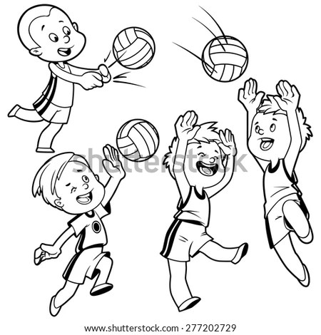 Kids Volleyball Stock Images, Royalty-Free Images