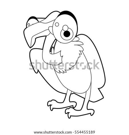 Cartoon Weird Eyeball Monster Stock Vector 103854623