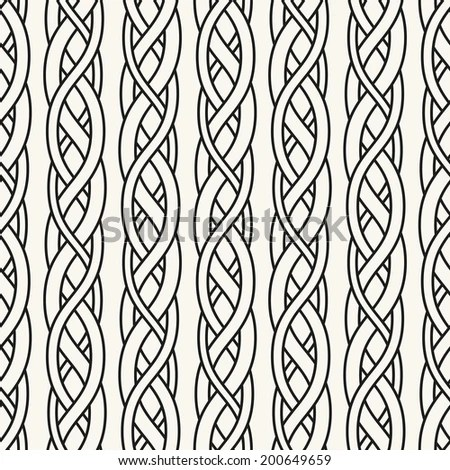 Celtic Pattern Element Scandinavian Celtic Ornament Stock