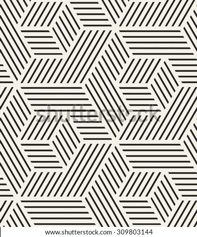 Vector Seamless Pattern Modern Stylish Texture Stock