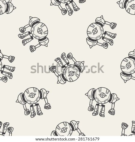 Astronauts Space Mission Poster Set Hand Stock Vector