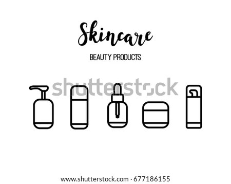 Skincare Stock Images, Royalty-Free Images & Vectors