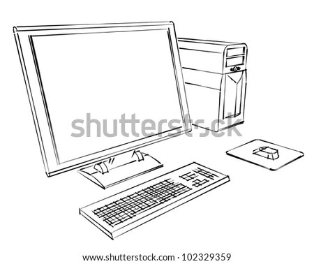 Keyboard Color Diagram, Keyboard, Free Engine Image For