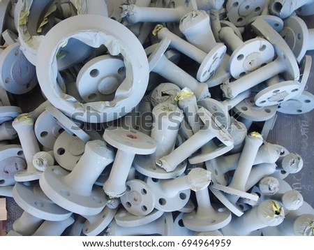 Blast Pipe Stock Images, Royalty