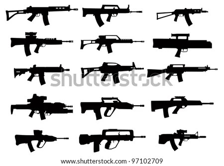 Assault Rifles Stock Images, Royalty-Free Images & Vectors