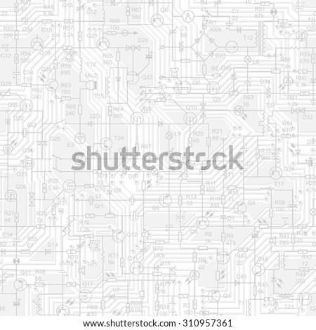 Detailed Architectural Plan Eps 10 Stock Vector 109940924