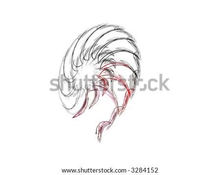Red Siamese Fighting Fish Betta Splendens Stock Photo